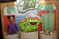 Kids enjoy the Play Zone before Sesame Street Live: Can't Stop the Singing, Feb. 21-24, at the Verizon Theatre at Grand Prairie.