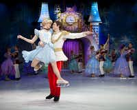 __ Caption: DISNEY ON ICE PRESENTS DARE TO DREAM Rapunzel, Tiana and Cinderella don their skates for this new live production that will showcase scenes from Tangled, The Prince and the Frog and Cinderella March 28-April 1, 2012, at American Airlines Center in Dallas. Seen here: Cinderella and Prince dancing. Email: esackett@dallasnews.com Phone: 940-395-1300 Byline: Disney on Ice Submitter: Ellen Sackett Timestamp: 2012-02-07 14:16:46 Section: GUIDE_NG 02242012xGUIDE
