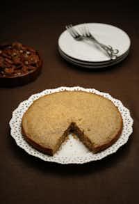 Pecan Butter Cake.