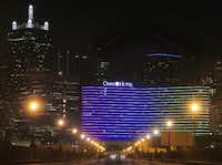 Lighting on the new Omni Dallas Hotel is both blasted and praised.