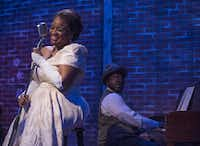 In Jubilee Theatre's Lady Day at Emerson's Bar & Grill, Denise Lee channeled Billie Holiday to perfection, accompanied by Geno Young as Jimmy Powers.( Rex C. Curry  -  Special Contributor )