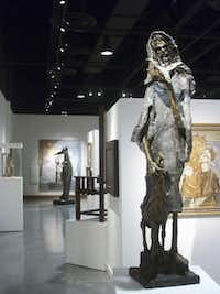 The Judaica gallery at the Museum of Biblical Arts in Dallas