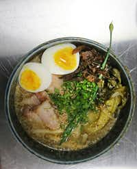 For ramen to work, Lan Chi Le of Tanoshii Ramen and Bar says the right amount of boil time is essential. Then you can adapt it to your liking with toppings.
