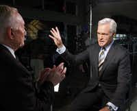"""Scott Pelley says """"uncomfortable, piercing questions"""" to people like Dallas Cowboys owner Jerry Jones often elicit great answers."""