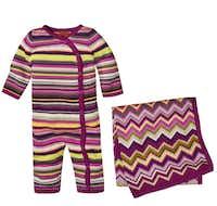 Union suit, $24.99; blanket, $24.99