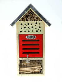 The Insect Hotel is designed to attract beneficials including green lacewings, ladybugs and earwigs. $39.99 at North Haven Gardens, Dallas.
