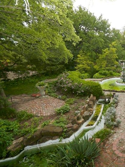 Discover Weatherford\'s lush secret, Chandor Gardens | Gardening ...