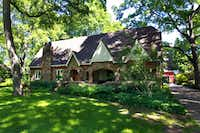 Judy Whalen's Forest Hills house near White Rock Lake is one of the stops on the White Rock East garden tour Sunday. The home, which has a storybook-cottage appeal, was once home to Lynn and L.B. Houston, the late longtime parks department director.