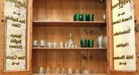 Vintage glassware of all sizes fits into the mix, too.(Allison Slomowitz - Special Contributor)