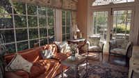 The sunroom in Virginia McAlester's Swiss Avenue house is her favorite room.( Ron Baselice )