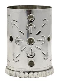 Punched-tin votive holders start at $11.95 at La Mariposa, Dallas.Evans Caglage - Staff Photographer