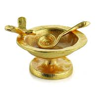 Celebrating his  25th year in business with a retrospective commemorative collection, Michael Aram offers the birdbath salt cellar, one in a series of the entertaining guru's most popular items through the years. $79 at St. Michael's Woman's Exchange, Highland Park, and michaelaram.com.(Michael Aram)