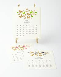 The ever-proper Mrs. John L. Strong line offers a calendar with hand-engraved month cards and an easel to start the new year off right. $150 at Neiman Marcus.(Neiman Marcus)