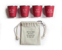 For the entertainer who appreciates an irreverent message, Izola shot glasses are sure to bring a chuckle. $38, Nest, Dallas.(Your Name/BFAnyc.com - Your Name/BFAnyc.com)
