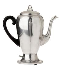 Vintage 50's Mirro-matic never used coffee pot, $35, from The Samaritan Inn's thrift shop.