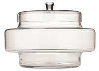 Garden server: Why not opt to use the Claude covered server in an unexpected way? $34.95 (on sale) at Crate & Barrel, multiple locations and crateandbarrel.com.