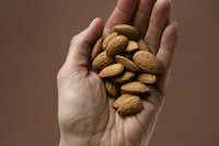 Nuts provide unsaturated or monosaturated fats the body needs. Almonds and pistachios are good sources of fiber.