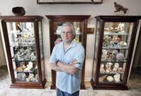Mark Pospisil of Southlake has lent pieces from his collection to the Perot Museum of Nature and Science.(Ben Torres - Special Contributor)