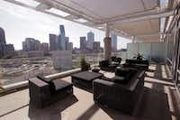 The two-level patio adds 800-square feet of living space.Ron Baselice - Staff Photographer
