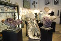 Mineral Hunters Gallery, open to the design trade, features minerals, fossils, bones, rocks, and crystals from Australia, France, Brazil, and other remote parts of the world.Mona Reeder  -  Staff Photographer