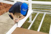Lowe's Gatehouse Custom Access Ramp System lets do-it-yourselfers boost their home's accessibility with a customizable ramp.