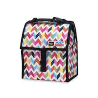 Lunch will stay cool for up to 10 hours when stored in the gel-lined, zip-closed PackIt personal cooler. A zip closure locks in the cold created by the tote's freezable gel liner. The lunch tote has a 72-oz capacity and is available in various patterns and colors. $19.99 in select Bed, Bath & Beyond stores and bedbathandbeyond.com(Bed Bath & Beyond -  Bed Bath & Beyond )