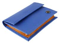Card carrying: A Cole Haan reflective card case holds cash, business cards or credit cards. $49.95 at Cole Haan, NorthPark Center, Dallas.