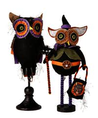 Zipper Owls, $44.95 and $32.95, from La Foofaraw, Plano.