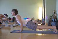 In his weekend Ashtanga workshop , David Garrigues is like a personal coach, getting to know each student's practice and body.(Allison Slomowitz - Special Contributor)