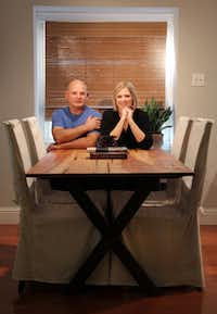 Lenny Fabian and Yvonne Holmes handcraft reclaimed-wood furniture after their day jobs. On weekends they travel to acquire antique lumber and salvage fallen trees.