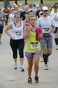 Presley Henry begins the Hottest Half at Norbuck Park on Sunday, August 12, 2012(Rex C. Curry)