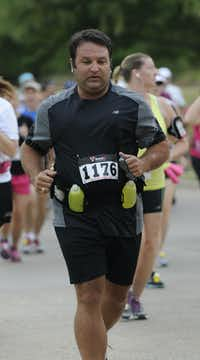James Miller begins the Hottest Half at Norbuck Park on Sunday, August 12, 2012(Rex C. Curry)