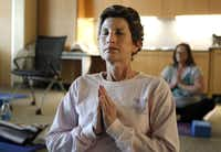 Cindy Simpkins found chair yoga very helpful while dealing with rheumatoid arthritis, breast cancer and osteoporosis.