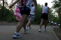 Trails at River Legacy Park in Arlington offer plenty of shade.
