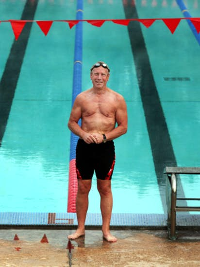 ea21ceb11d Swimming helped Dallas man lose nearly 100 pounds | Better Living ...