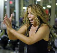 Kimber Westphall teaches the Booty Kick workout class at Energy Fitness in Uptown five days a week.