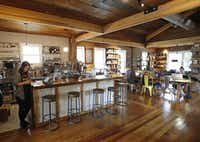 Wild Detectives also functions as a cafe, bar and coffee shop.(Louis DeLuca - Staff Photographer)