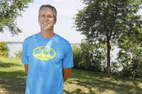 Mark Rybczyk, a.k.a. Hawkeye on the KSCS-FM (96.3) morning show, loves to stay active. He took up long-distance running eight years ago.( Michael Reaves  -  Staff Photographer )