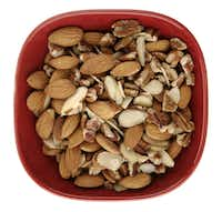 Nuts like almonds, walnuts and pistachios offer a healthy kind of fat.