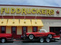 ORG XMIT: S0361412153_STAFF Gary Coleman's car at Fuddruckers in Irving for Charity Classic Car show on Saturday to benefit Irving Police Association.(Courtesy - Digital File)