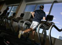 2. Cardio isn't just for girls. If you can lift weights but huff and puff through a sprint, you're not in good shape.Sonya N. Hebert