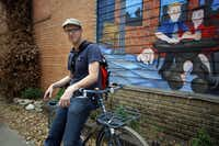 """Jason Roberts, co-founder of Bike Friendly Oak Cliff, says barely two-tenths of a percent of Dallas residents regularly ride. He and other enthusiasts are hoping to change that. """"We're a one-car family,"""" he says. """"It's saved us a lot of money."""""""