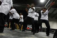 Prancing Pearls dance group performed during KwanzaaFest in 2011.