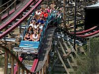 """Six Flags officials called their new virtual reality feature a possible """"game changer"""" as the company generates interest in older areas of parks without having to spend millions to build new rides. (File Photo/Staff)"""