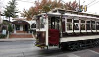 6) M-LINE TROLLEY -- The McKinney Avenue Transit Authority's restored vintage trolleys traverse the Uptown neighborhood 365 days a year. Ride Rosie (the eldest, built in 1909), the Green Dragon (1913), Petunia (1920) or Matilda (1925) from the Cityplace DART station all the way past Klyde Warren Park and into the Dallas Arts District and back. Close your eyes and feel the breeze, and you'll almost feel like you're on a New Orleans streetcar. Hop on and off for shopping, entertainment and dining.DAVID WOO - Staff Photographer