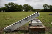 Old City Cemetery in the Douglass neighborhood is in need of preservation. Two sisters want the city to appoint a nonprofit corporation to assume control.Andy Jacobsohn  -  Staff Photographer