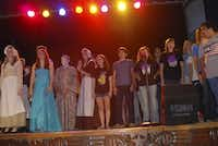 In 2008, J. L. Long Middle School presented its 20th original theatrical production. It was the third musical in a series that David Hirsch, husband of choir director Beverly Hirsch, had written for the students. Beverly Hirsch is retiring after 28 years with the school.( DMN file photo  - Digital File_UPLOAD)