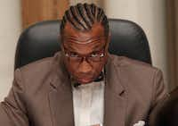 Dallas County Commissioner John Wiley Price.(Staff Photo)