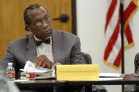 Commissioner  John Wiley Price was present last week for a meeting of the Dallas County Juvenile Board at the county's Juvenile Justice Education Facility.Ben Torres - Special Contributor