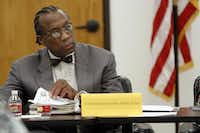 Commissioner  John Wiley Price was present last week for a meeting of the Dallas County Juvenile Board at the county's Juvenile Justice Education Facility.(Ben Torres - Special Contributor)